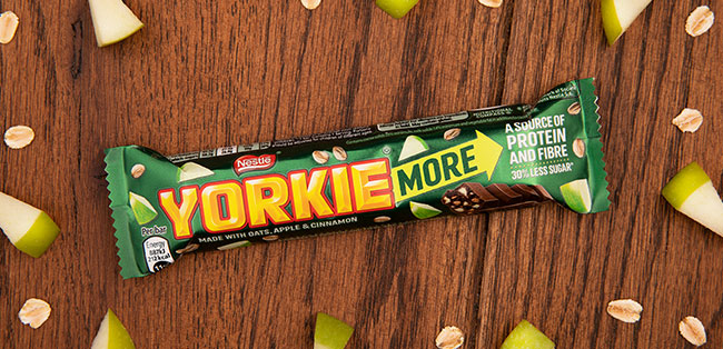 Yorkie MORE Apple, Oatmeal and Cinnamon flavor