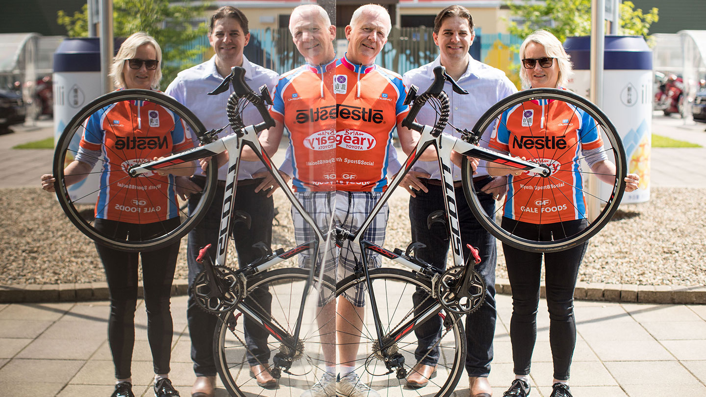 Get on your bike for a wheely good cause