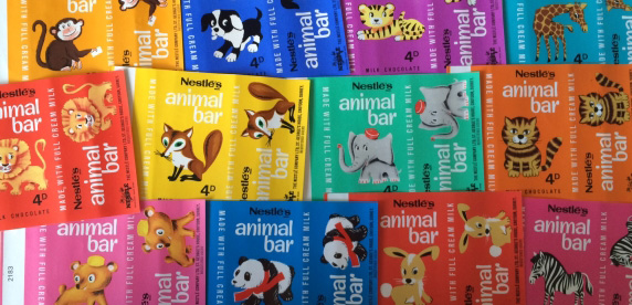 Animal Bar Wrappers