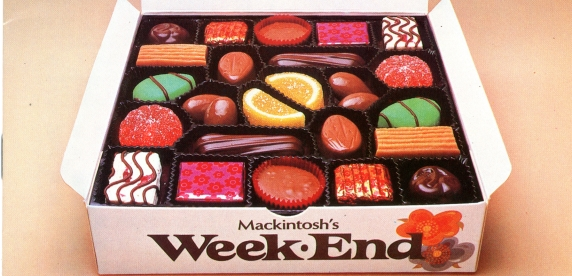 Weekend Box Of Chocolates