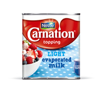 Image of Carnation Evaporated Milk tin