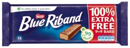Image of Blue Riband wafer