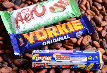 SMARTIES®, YORKIE® AND AERO®, became UTZ Certified