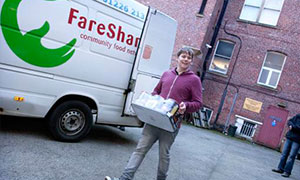 Fareshare - ensuring no good food goes to waste