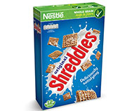 Shreddies original pillows