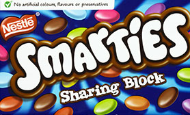Smarties Sharing Block