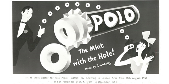 polo the mint with the hole ad