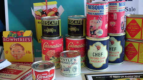 products from the Nestle archive