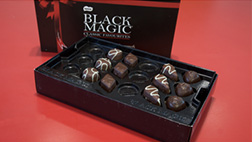 inclusive packaging of Black Magic