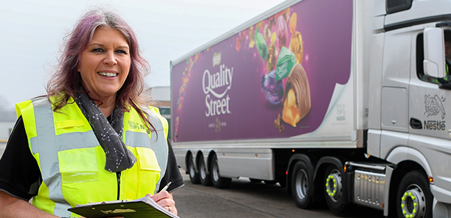 sally wright head of delivery transport hub