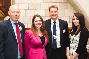 Apprentices meet MPs