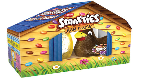 Nestlé Go The 'Eggstra' Mile for Easter with 100% ... Smarties Box Design