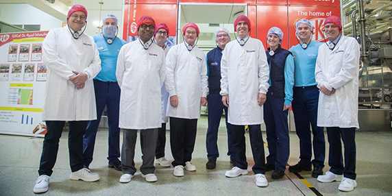 new food minister visits kitkat factory in york