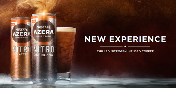 new experience with nescafe azera nitro