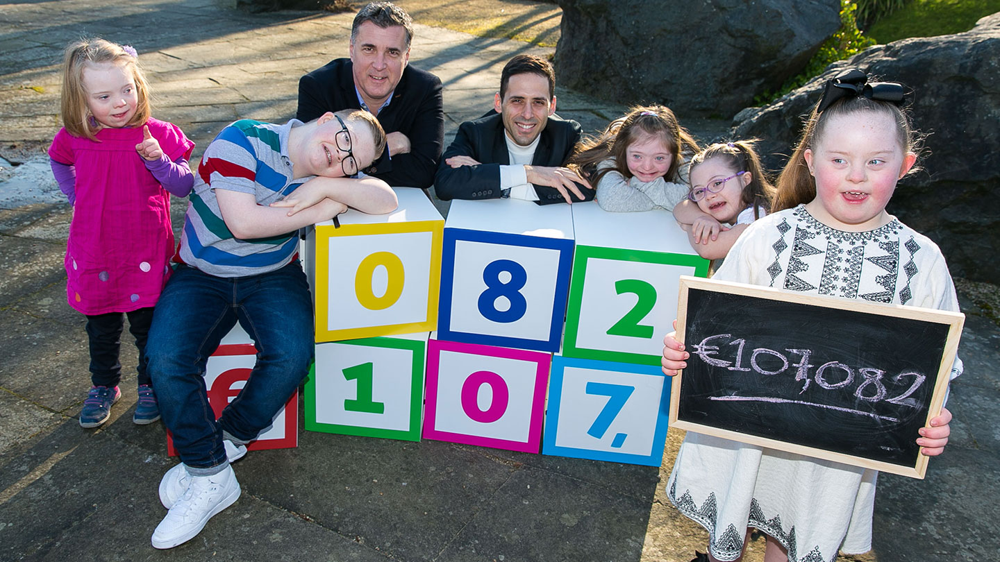 b5c2f2219b7 Nestlé employees raise €107,082 for Down Syndrome Ireland