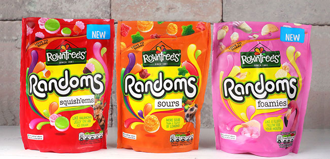 new rowntrees randoms range
