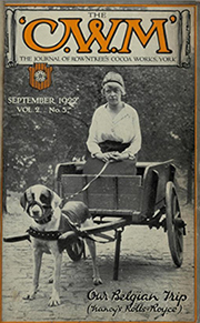 rowntrees cocoa works journal september 1922 issue
