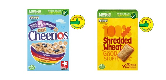 change4Life on cereals pack promotion