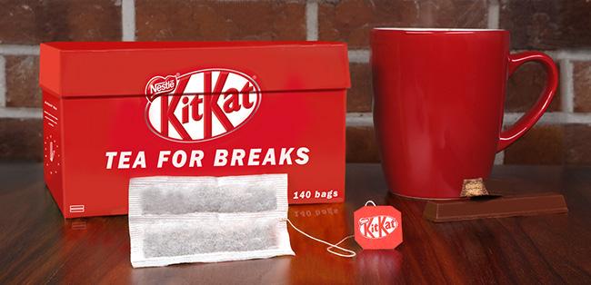 Have a break, have a KitKat tea break! | Nestlé