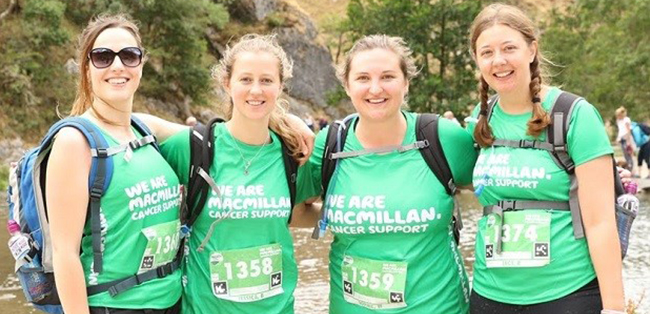Macmillan Mighty Hike
