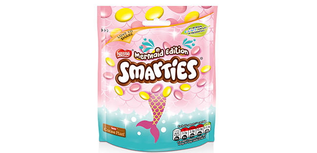 mermaid edition smarties