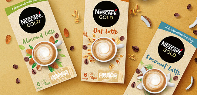 Nestlé Launches Plant Based Latte Coffees In The Uk And