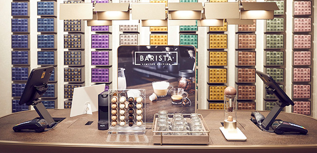 nespresso barista office