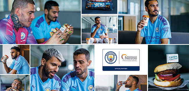 Nestlé Professional UK&I announce partnership with Manchester City Football Club