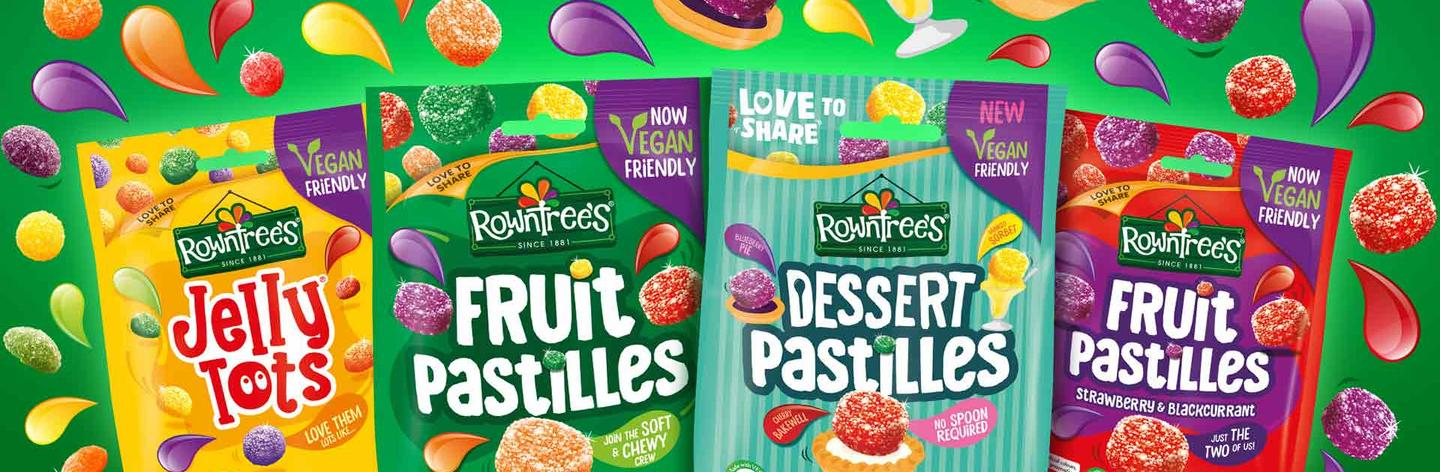 rowntrees colored bundles